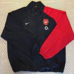 Arsenal Nike Jacket Zip Up Wind Breaker